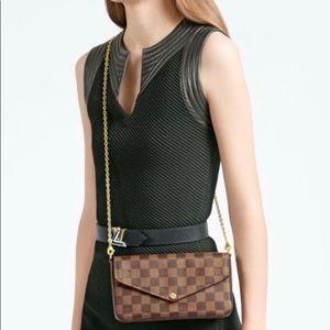 Louis Vuitton Fecile damier ebne